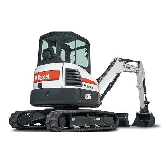 Bobcat E35 Excavator