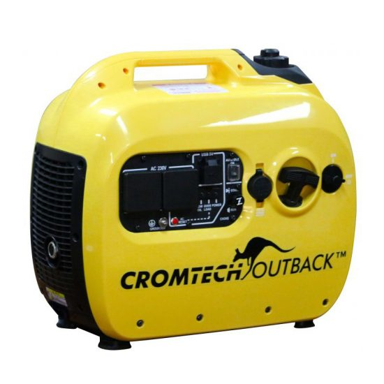 Crommelins 2.4KVA Inverter Generator