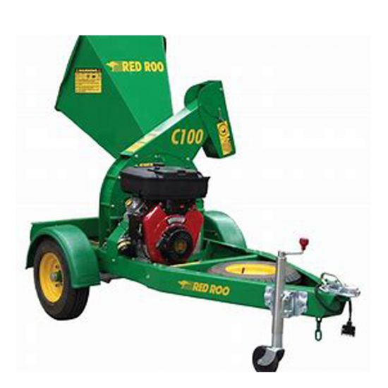 Red Roo C100 Wood Chipper